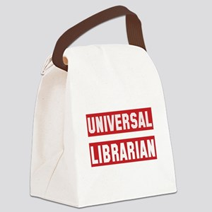 Universal Librarian Canvas Lunch Bag