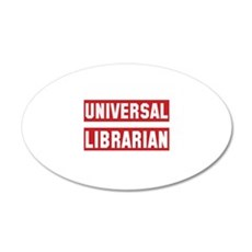 Universal Librarian Wall Decal