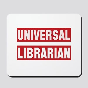 Universal Librarian Mousepad