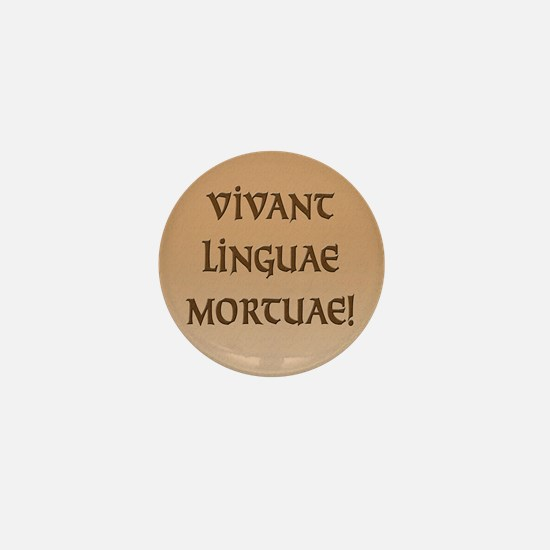 Long Live Dead Languages! Mini Button