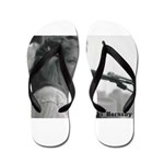 FocusGuitarCroped8x8 Flip Flops