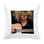 FocusGuitarCroped8x8 Everyday Pillow