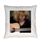FocusGuitarCroped8x8 Everyday Pillow