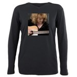 FocusGuitarCroped8x8 Plus Size Long Sleeve Tee