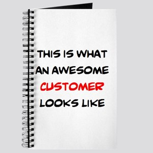 awesome customer Journal
