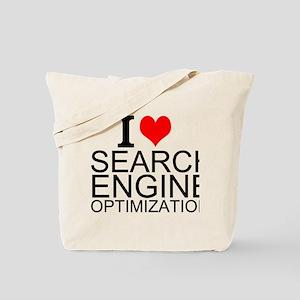 I Love Search Engine Optimization Tote Bag
