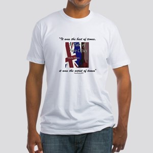 A Tale of Two Cities Fitted T-Shirt