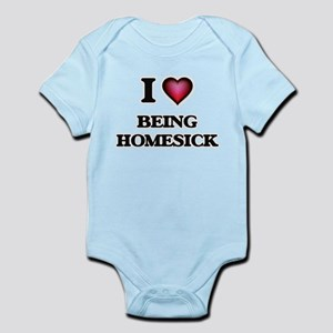 I Love Being Homesick Body Suit