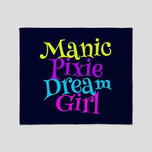Manic Pixie DG Throw Blanket