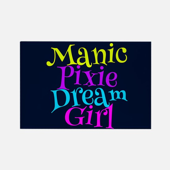 Manic Pixie DG Rectangle Magnet