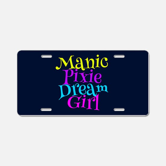 Manic Pixie DG Aluminum License Plate