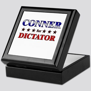 CONNER for dictator Keepsake Box