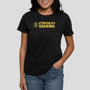 U.S. Army: Proud Grandma Women's Dark T-Shirt