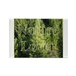 Nature Lover Rectangle Magnet