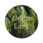 Nature Lover Ornament (Round)