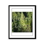 Nature Lover Framed Panel Print