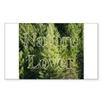 Nature Lover Rectangle Sticker
