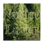 Nature Lover Tile Coaster