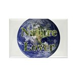 Nature Lover Earth Rectangle Magnet