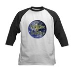 Nature Lover Earth Kids Baseball Jersey