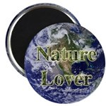Nature Lover Earth Magnet