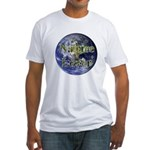 Nature Lover Earth Fitted T-Shirt