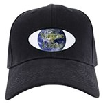 Nature Lover Earth Black Cap