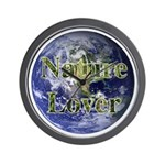 Nature Lover Earth Wall Clock
