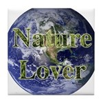 Nature Lover Earth Tile Coaster