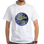 Nature Lover Earth White T-Shirt