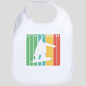 Retro Snowboard Bib