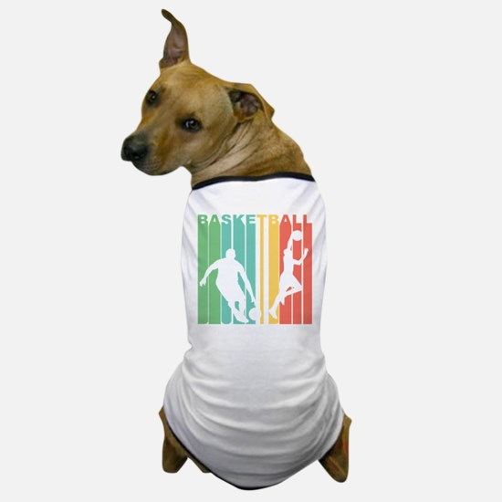 Retro Basketball Dog T-Shirt