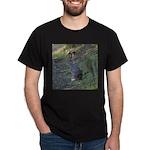 Black Tailed Jackrabbit Dark T-Shirt