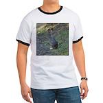 Black Tailed Jackrabbit Ringer T