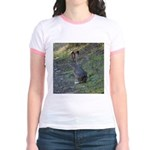 Black Tailed Jackrabbit Jr. Ringer T-Shirt