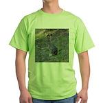Black Tailed Jackrabbit Green T-Shirt