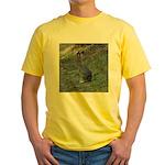 Black Tailed Jackrabbit Yellow T-Shirt