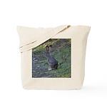 Black Tailed Jackrabbit Tote Bag