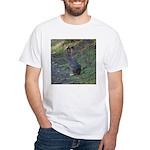 Black Tailed Jackrabbit White T-Shirt