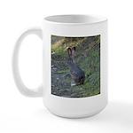 Black Tailed Jackrabbit Large Mug