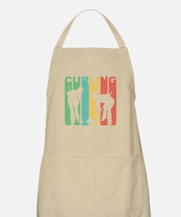 Retro Curling Apron