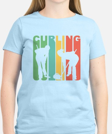 Retro Curling T-Shirt