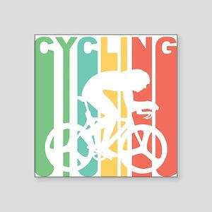 Retro Cycling Sticker