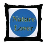 Nature Lover Sky Background Throw Pillow