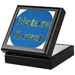 Nature Lover Sky Background Keepsake Box