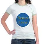 Nature Lover Sky Background Jr. Ringer T-Shirt