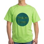 Nature Lover Sky Background Green T-Shirt