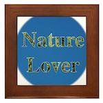 Nature Lover Sky Background Framed Tile