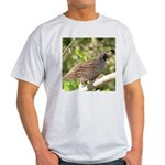 California Quail Light T-Shirt