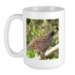 California Quail Large Mug
